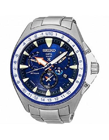 Reloj Seiko SSF001J1 Edición limitada 1058/1500  Marinemaster Solar GPS