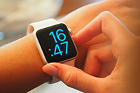 Sección de relojes Smartwatch