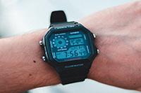 Sección de relojes Digitales