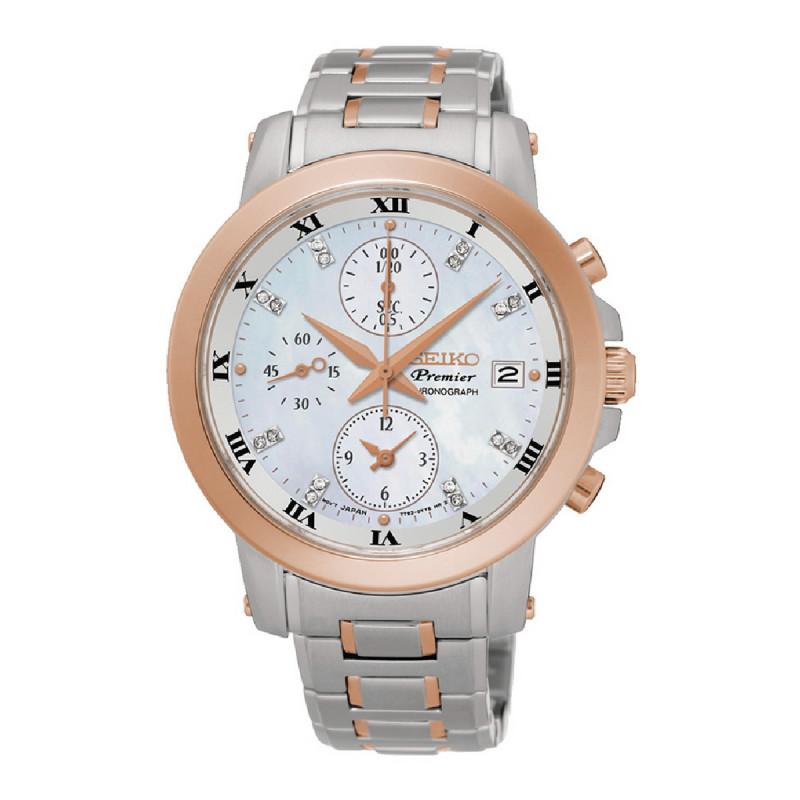 Reloj para mujer Seiko Premier Cronograph SNDV58P1